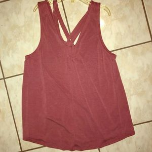 American Eagle Suede Top size xs
